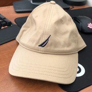 Nautica men's beige tan hat